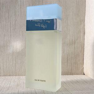 Top-Qualität Parfüm der hellblauen Frauen Marke Parfüm Parfum 100 ml Parfum Deo Spray Parfüm für Frauen