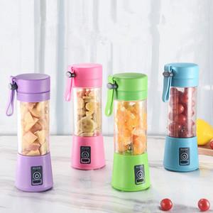 380 ml Personal Blender Portable Mini Blender USB spremiagrumi tazze spremiagrumi elettrica bottiglia di frutta utensili verdure EAA284