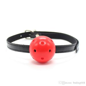 Sex Products Leather Mask Harness With Silicone Ball Gag Harness Fetish Bondage Sex Mask Adult Erotic Toys For Couple R168