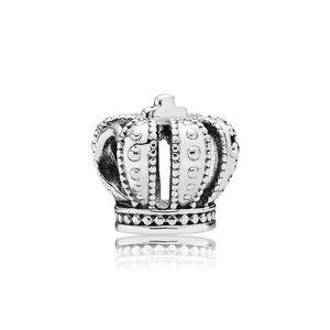 Marka takı aksesuarları için Taç Avrupa Boncuk Charms Orijinal kutusu Pandora 925 Ayar Gümüş Takılar Bilezik Takı Yapımı