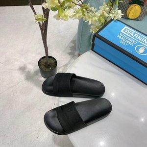 2020 Designer Pantoffel Männer Schuhe Mode G Frauen Sandale Schwarz Freizeit Meer Strand Wohnungen Frauen Meer Badespiel Größe 35-46