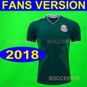 2018 dünya kupası Meksika ev yeşil 2018 2019 formalarını Nefes Anti-Pilling çok güzel kaliteli futbol formaları 24 saat içinde göndermek