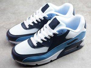Hot Sale Wesentliche UNC Sport Designer Schuhe Weiß Pure Platinum Universität Blue Midnight Navy Mode Chaussures Trainer kommen mit Kasten