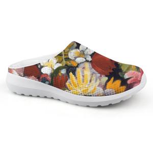 Anpassbare Mode Sandalen Mann lässig Natur und Tiere Malerei Außerhalb Schuhe Sandalen bequeme Sommerschuhe für Strand