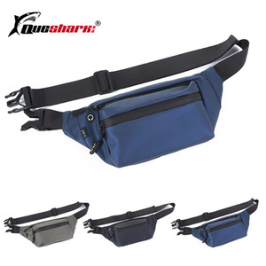 New Mobile Phone Running Waist Bag Frosted Fanny Pack Men's Chest Bag PU Leather Climbing Hiking Fishing Sports Waist Pack