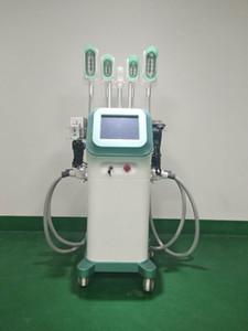 Nouvelle arrivée Fat rduce machine de congélation 5 poignées de travail avec mentons Dobule réduire les poignées cryolipolysis 360 degrés Cryo machine