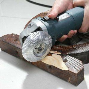 Hartmetall Schleifen von Holz schnitzt Shaping Scheibe für Winkelschleifer Schleifpolierscheibe Platte Werkzeuge Werkzeug zur Holz