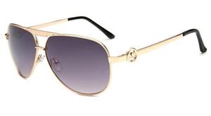 Оптово-Последней Мода Классического стиля рамка металла Цветных зеркал SunAccessories очки Оптовой 5001