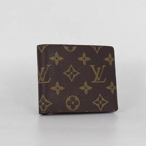 Portefeuille livraison gratuite 2019 en cuir pour hommes avec des portefeuilles pour hommes Purse Designer Men Wallets