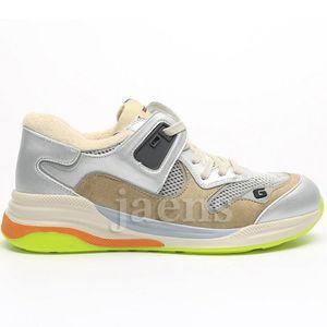 2020 Новый Ultrapace Ритон Урожай Mens женщин Белый Черный Тройной Sneaker Модельер Screener Повседневная обувь