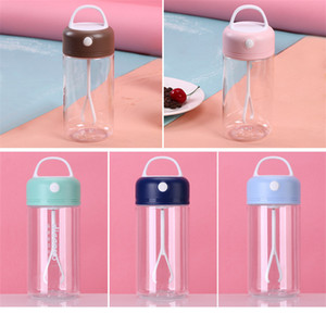 Proteína do pó Shaker Bottle Esporte milkshake Cup exterior Ginásio Camping aptidão bebida 380ml 3 cores