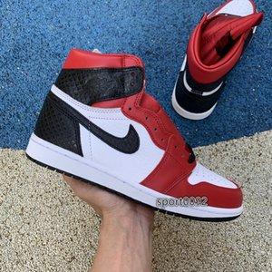 Men 1s Basketball Shoes 1 High OG WMNS Satin Snake Designer Luxury Trainer Athletic Sports Sneakers NakeskinJordanSneakers