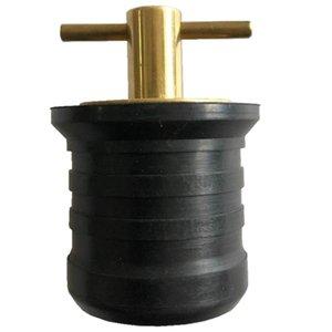 Marino 1-1 / 4 pulgadas de latón Snap Plug, Snap-Tite Barco Achicador Plug Achicador y baitwell Drenajes