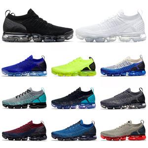 2020 الساخن بيع الاحذية الرجال النساء Chaussures الروح Knite الثلاثي أسود أبيض Zapatos تنفس الاحذية الرياضية أحذية رياضية 36-45