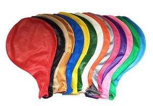 Bayram Olay 36 inç 90cm Yuvarlak Şeffaf Balon Lateks Balonlar Düğün Dekorasyon Şişme Helyum balonu Düğün Balonlar Doğum Toplar