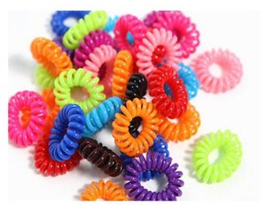 Headrope Korean version of the new telephone line hair ring wholesale