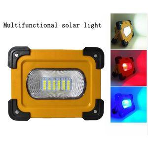 Светодиодный свет работы портативный Солнечной 36LED света потока перезаряжаемые Банк силы чрезвычайных зарядное устройство USB фонарик лампы для крытый открытый