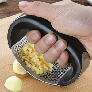Stainless Steel Kitchen Garlic Press Crusher food mills Crusher Vegetable Squeezer Masher Kitchen Accessories Mills T2I5188