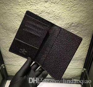 Новый бренд держатель паспорта дизайнер фирменное наименование держатель кредитной карты натуральная кожа держатели паспорта высокое качество M60181 N60189 M63189 N60032