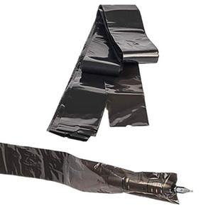 125 قطع الوشم كليب الحبل الأكمام المتاح البلاستيك الأسود كابل يغطي أكياس لآلة الوشم المهنية الاكسسوارات الوشم التموين