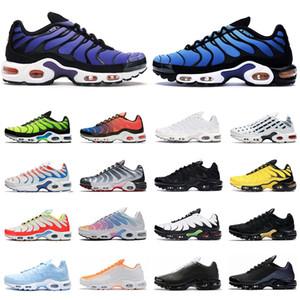 nike tn air max plus se hombres mujeres zapatos para correr ultra triple negro blanco OG Hyper Blue Total Crimson para hombre entrenador moda zapatillas deportivas corredor