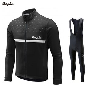 Ralvpha Maillot cyclisme 2019 Printemps / Automne Cyclisme Vêtements Ropa Ciclismo Maillots Respirant hommes PRO TEAM JERSEY DE FORMATION