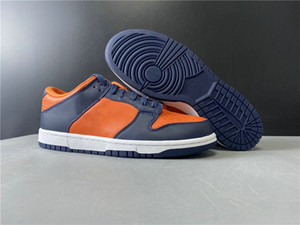 Новый эксклюзивный Dunk Low SP Champ Цвета Дизайнерские Скейтборд обувь университет Orange Marine Fashion Sport Sneakers хорошее качество Come With Box