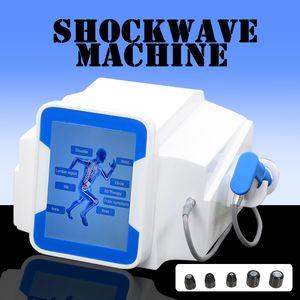 Onde de choc Ed Therapy Machine pour le traitement de la douleur ED relife et tous les types de traitement de l'arthrite avec 5 bars