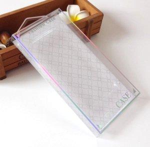 Vaciar paquete al por menor plástico de PVC Caja de empaquetado para el teléfono celular del iPhone Funda del teléfono móvil Casos 1000pcs Accesorios Cubierta de plata