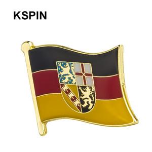 독일 0001 깃발 배지 배지에 대한 브로치 도금 보석에 대한 브로치 배지 금속 XY0171