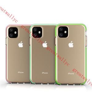 2019 nouvel étui pour téléphone portable iphone 11 xs max xr housse de protection givré étui anti-chute transparent