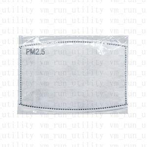 Günstige Erwachsene Kinder Filter Anti Staub Nebel Gesichtsmaske Tröpfchen Austauschbare Maske Einfügen Papier Dunst Mund PM2. 5 Filter Schutz Produkte