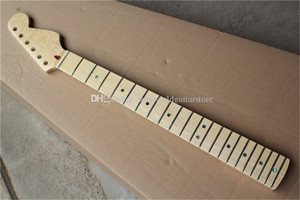 Factory Custom 6 Strings Flame Maple Electric Guitar Neck with Maple Fingerboard,Maple Neck,Can be customized as request