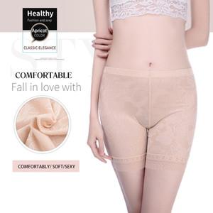 Innsly shorts sécurité des femmes taille plus été respirant culotte en dentelle sexy short de sécurité culottes de mode taille lourde