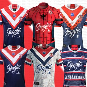 2019 Australia MENS ANZAC JERSEY SYDNEY ROOSTERS Rugby indigena Jerseys NRL Rugby League maglie Ragbi Sydney Roosters Rugby League