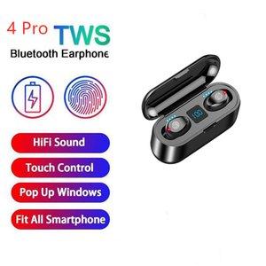 pro 4 TWS Bluetooth wireless headset stereo earbuds Erbuds PK i9000 pro i12 i9s i7s tws