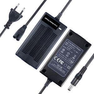 110V-240V Li-ion Battery Charger UE Output 42V 2A Ebike carregador de bateria para 36V bateria de lítio com DC plug