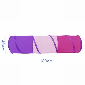 LOOZYKIT Three Colors Toy Crawling Tunnel Children Baby Play Crawling Games Access To The Tent Outdoor Indoor Activity