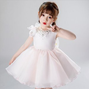 Fancy Baby Girl Christening Gowns 1 Years Birthday Dress Wedding Baptism Dresses Kids Party Clothes Little Girl Holiday Christening Dress
