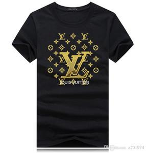 marin pur coton T-shirt des hommes de printemps et d'été 2020 âme T-shirt à manches courtes T-shirt gros s-5XL