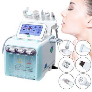 6in1 petits Soin de la peau Bubble BIO ultrasonique RF Hydra profonde Facial Pore propre massage facial Rajeunissement de la peau machine