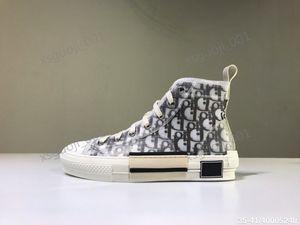 Dior shoes de toile imprimée personnalisée en édition limitée, la mode polyvalent chaussures hautes et basses, avec la taille de chaussure d'emballage d'origine 35-45 Xshfbcl