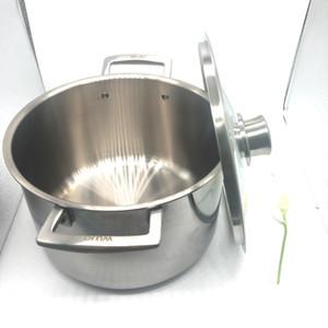 Mejor precio olla de sopa de titanio puro estufa de camping de titanio de 2,3 mm de espesor con olla de chimenea utensilios de cocina de pan de diferentes tamaños hecho al por mayor
