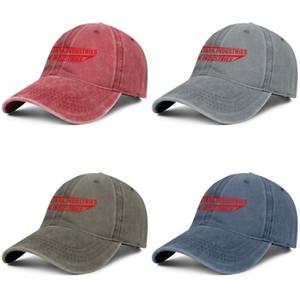 Stark Industries logo unisexe vintage denim design sport réglable de cap Washed à billes