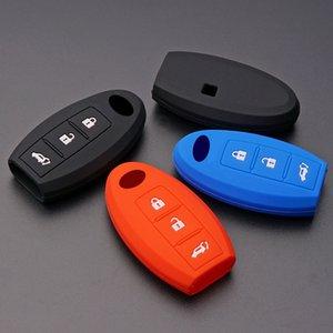 رخيصة حالة مفتاح لسيارة مطاط السيليكون مفتاح السيارة FOB حالة تغطية لإنفينيتي QX50 Q50 QX60 G25 JX35 ESQ EX FX