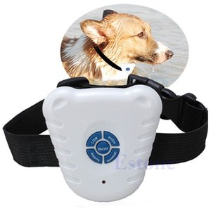 Dog Training Collar Anti Bark Shock Vibration Collar Pets Products Adjustable Stretch Collar Pets Training Supply-W110