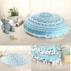 15 Color 75*75cm Indian Pillow Case Cushion Cover Pillow Cover Bohemian Pillowcase Vintage Sofa Home Car Decoration
