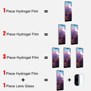 400D 3Pcs Hydrogel Soft Film For Xiaomi Redmi Note 9S 9 Pro Max 7 8 K30 K20 8T Protector Redmi 8 8A Protective Not Glass