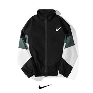 포켓 스포츠 지퍼 자켓을 실행 고품질 남성의 통기성 빠른 건조 야외 스포츠 코트 야구 패션 코트