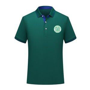 Polos 2020 Celtic FC Futebol Polo de treinamento de futebol de manga curta polo Moda Sports Polos do futebol do futebol T-shirt dos homens Jersey
